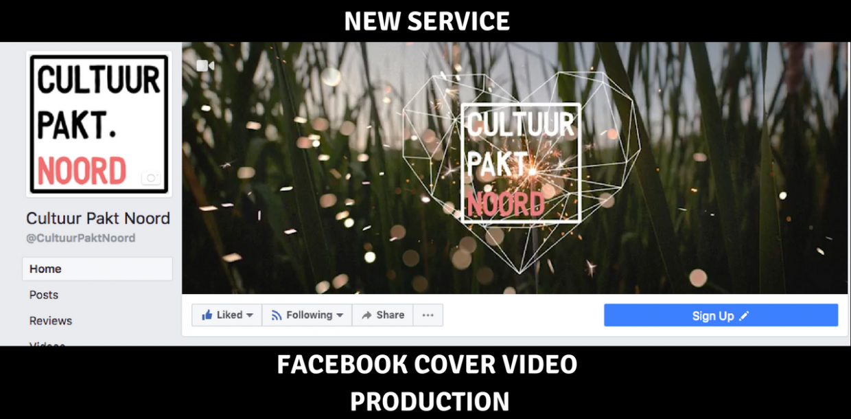 NEW SERVICE FACEBOOK COVER VIDEO PRODUCTION - social media marketing